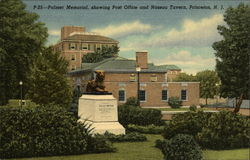 Palmer Memorial, Showing Post Office and Nassau Tavern