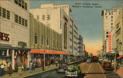 Flagler Street - Shopping Street