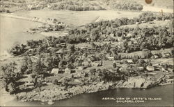 Aerial View of Leete's Island