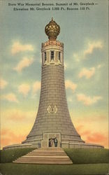 State War Memorial Beacon, Mount Greylock
