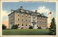Pearsons Hall at Middlebury College