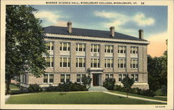 Middlebury College - Warner Science Hall