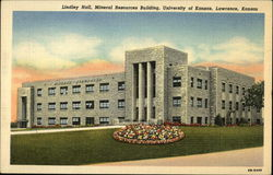 Lindley Hall, Mineral Resources Building, University of Kansas