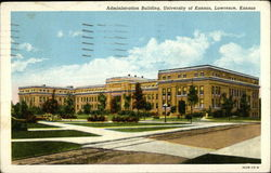 Administration Building at the University of Kansas