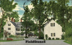 Fieldstones by Sally Bodwell Postcard