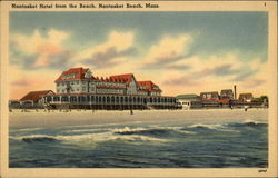 Nantasket Hotel From the Beach