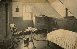 Fruitlands and the Wayside Museums - Shaker House, Bedroom