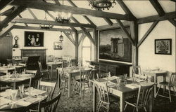 Fruitlands Museum - Sandwich Shop Postcard