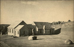 Fruitlands and the Wayside Museum Postcard