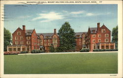 Mount Holyoke College - Rockefeller Hall