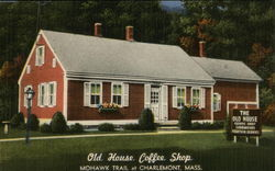 The Old House Coffee Shop Postcard