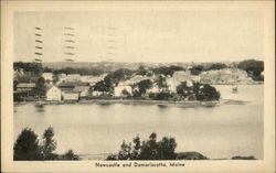 View of Newcastle and Damariscotta