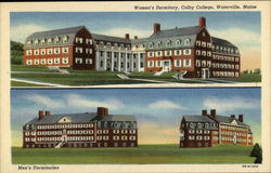Women's and Men's Dormitiories at Colby College