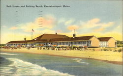 Bath House and Bathing Beach
