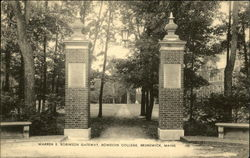 Bowdoin College - Warren E. Robinson Gateway