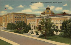 Bangor High School and Library