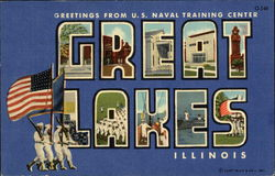 Greetings from U.S. Naval Training Center