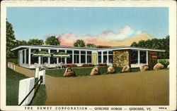 The Dewey Corporation Restaurant and Sales Room, Quechee Gorge