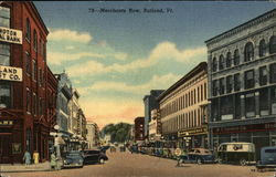 Merchants Row Postcard