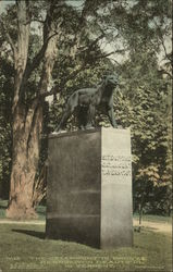 The Catamount In Bronze - Site of The Catamount Tavern 1767