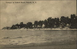 Cottages at Selkirk Beach Postcard