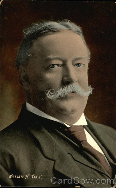 Portrait Of Former President William H. Taft Presidents