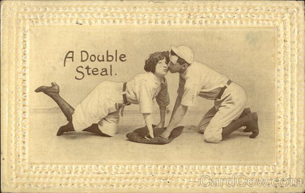 A Double Steal Baseball