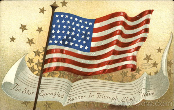 The Star Spangled Banner in Triumph Shall Wave Patriotic