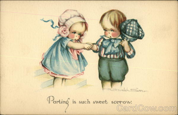 Parting is Such Sweet Sorrow Ruth Welch Silver Artist Signed