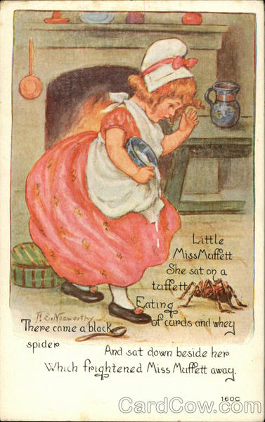Little Miss Muffett Nursery Rhymes