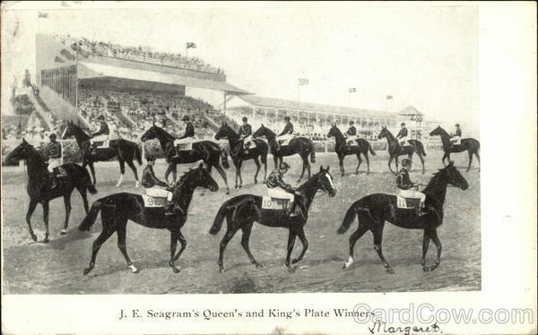 J.E. Seagram's Queen's and King's Plate Winners Horse Racing