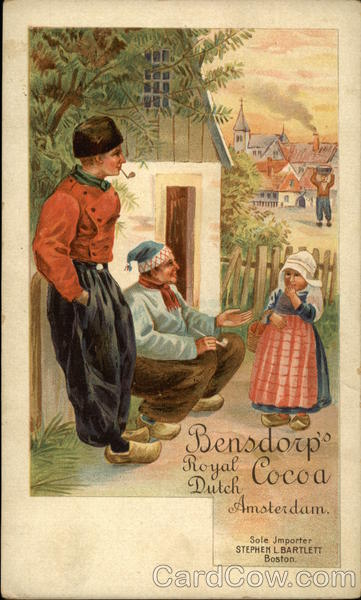 Bensdorp's Royal Dutch Cocoa, Amsterdam Advertising