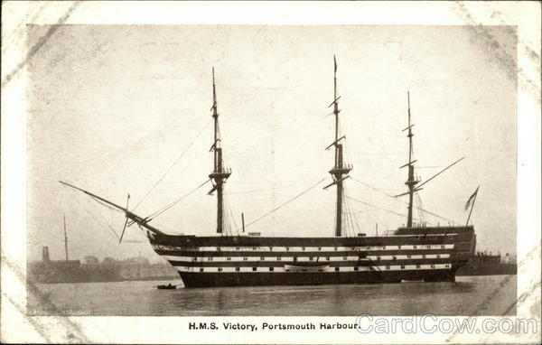 H.M.S. Victory, Portsmouth Harbour Boats, Ships