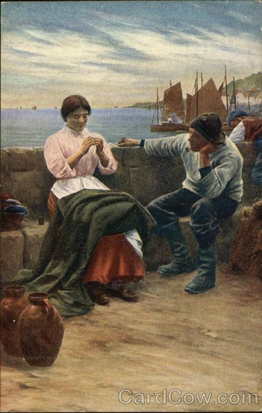 A Cornish Idyll by Walter Langley Art