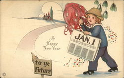 A Happy New Year, Jan. 1, To ye Future
