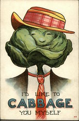 I'd Like to Cabbage you Myself