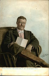 Theodore Roosevelt at Oyster Bay