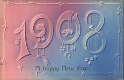Happy New Year - 1908