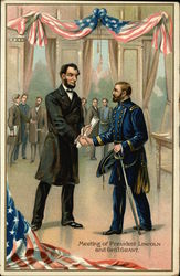 Meeting of President Lincoln and General Grant