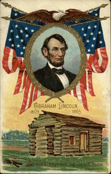 Abraham Lincoln, 1809-1865 Postcard