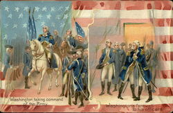 Washington Taking Command of the Army, Washington's Farewell to his Officers