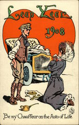 Leap Year 1908, Be my Chauffeur on the Auto of Life