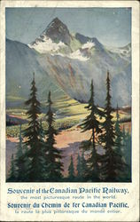 Souvenir of the Canadian Pacific Railway, the most picturesque route in the world