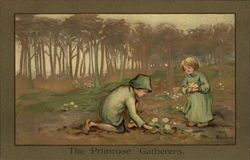 The Primrose Gatherers Postcard
