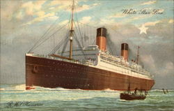 "White Star Line - R.M.S. ""Homeric"""