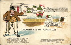 Thursday is My Jonah Day