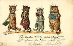 Four Cats Singing