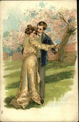 Man and Woman, Cherry Blossoms