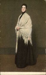Lady with the White Shawl