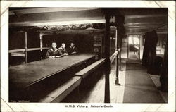 H.M.S. Victory. Nelson's Cabin
